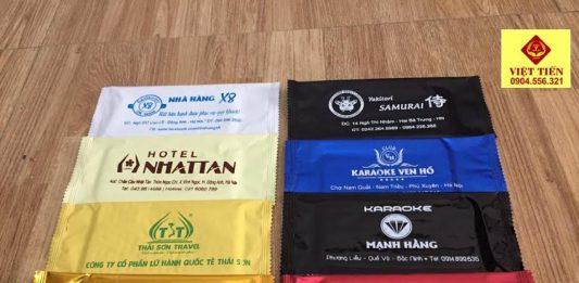 Chuyên cung cấp khăn lạnh in vỏ kẽm cao cấp
