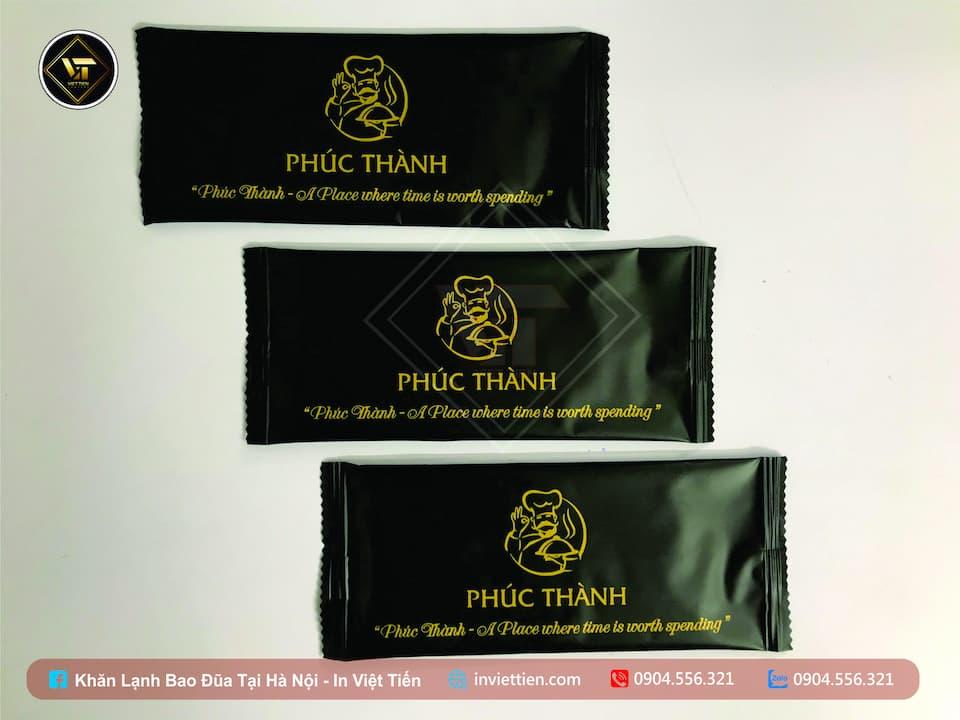 Địa chỉ sản xuất in khăn lạnh, khăn giấy ướt tại Bắc Ninh, Bắc Giang.